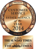 Bronze award best customer service