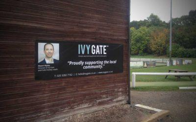 Ivy Gate sponsor Thames Ditton Hockey Club.