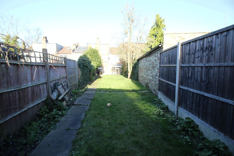 Rear Garden to back of house
